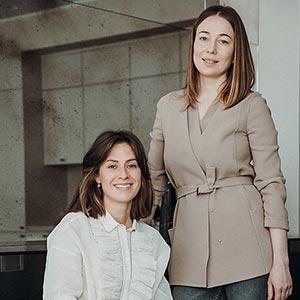 Екатерина Гафина и Юлия Никулина