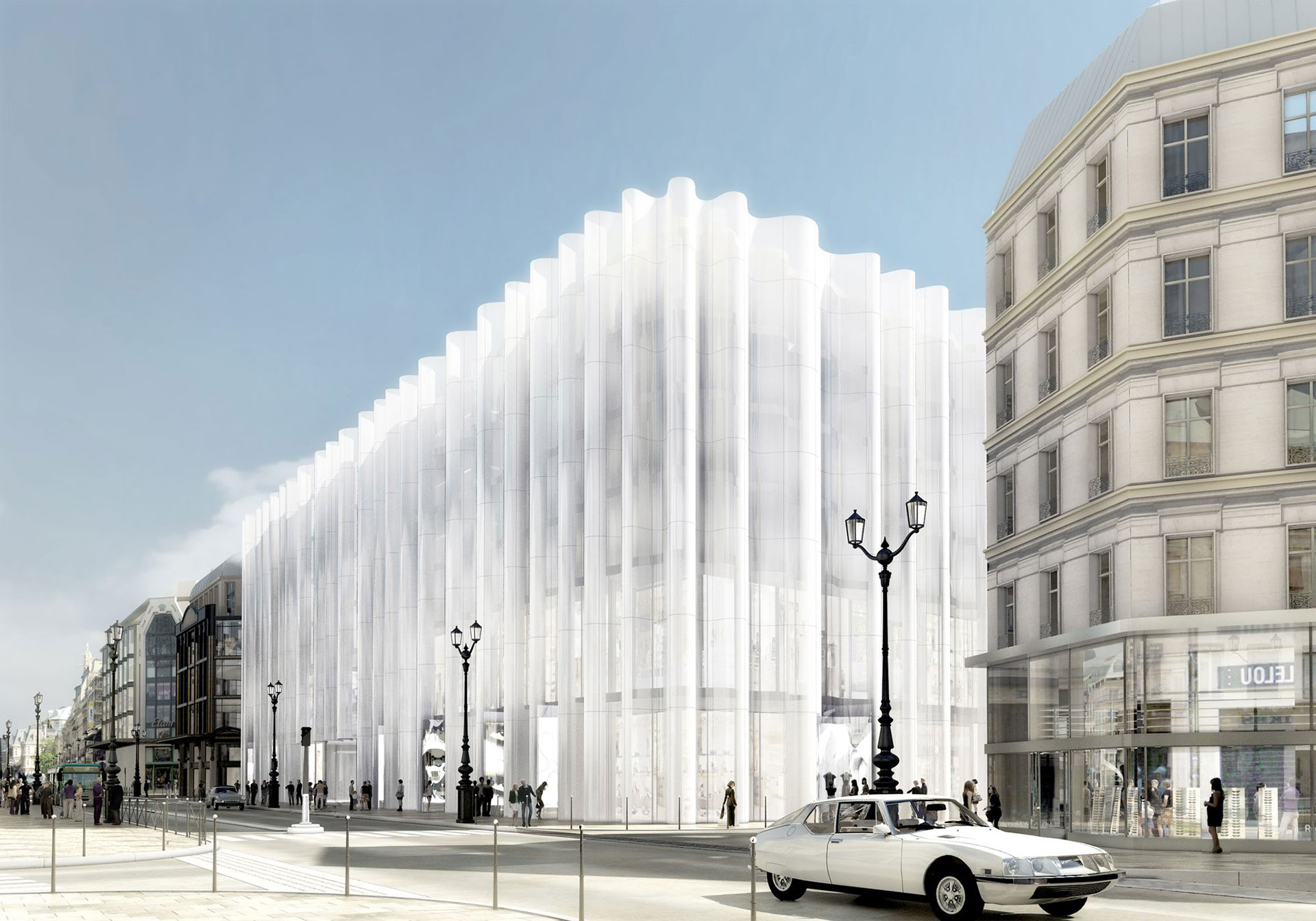 SANAA  завершит обновление парижского универмага La Samaritaine весной 2020 года