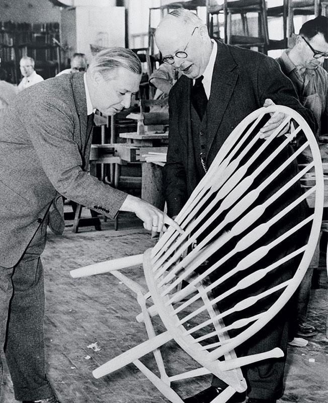 Ханс Вегнер стулья фото