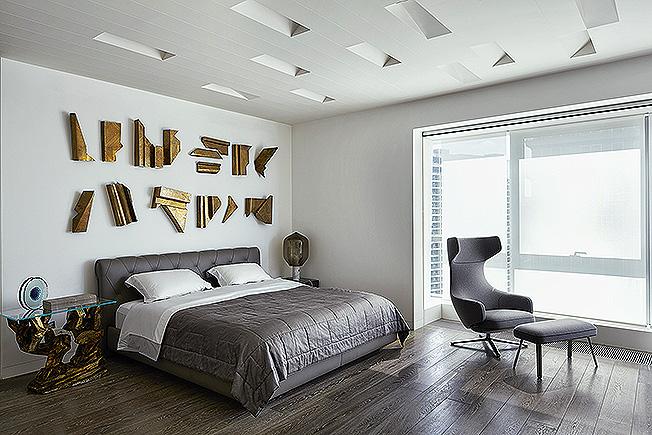 потолок в цвет стен фото