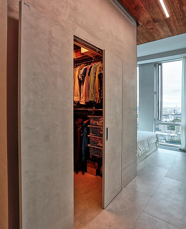 Встроенный шкаф фото