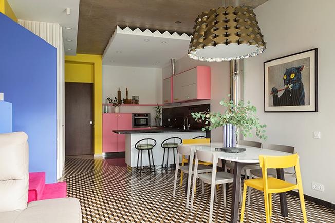 современный дизайн кухни фото