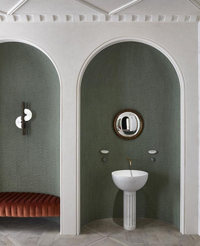 цвет ванной комнаты фото