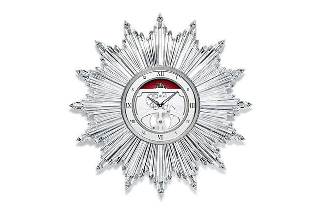 Часы Мэрилин Монро: Baccarat перевыпустил исторические часы «Солнце» в новом размере.