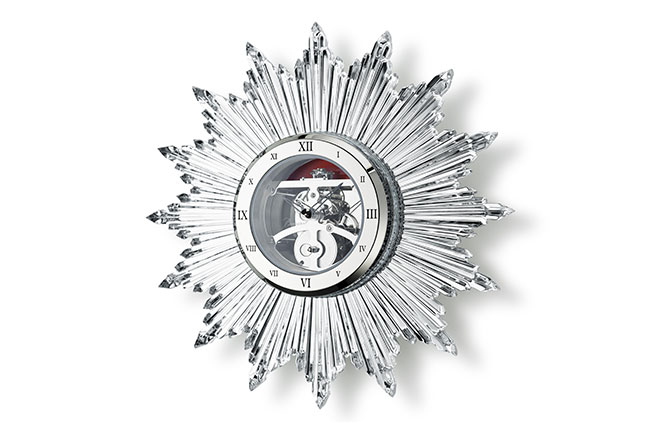 Часы Мэрилин Монро. В 2019 году Baccarat представляет «Солнце» в новом размере.