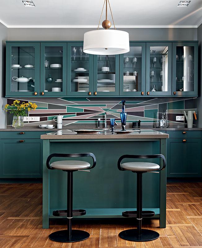 яркие кухни фото