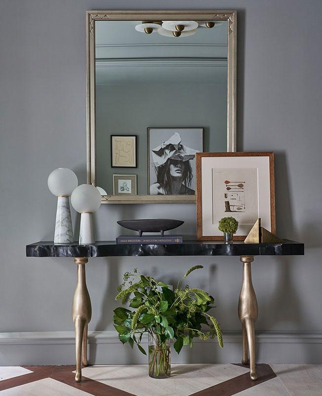 Серый в интерьере фото