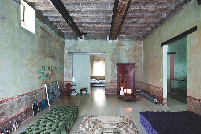 необычный потолок фото