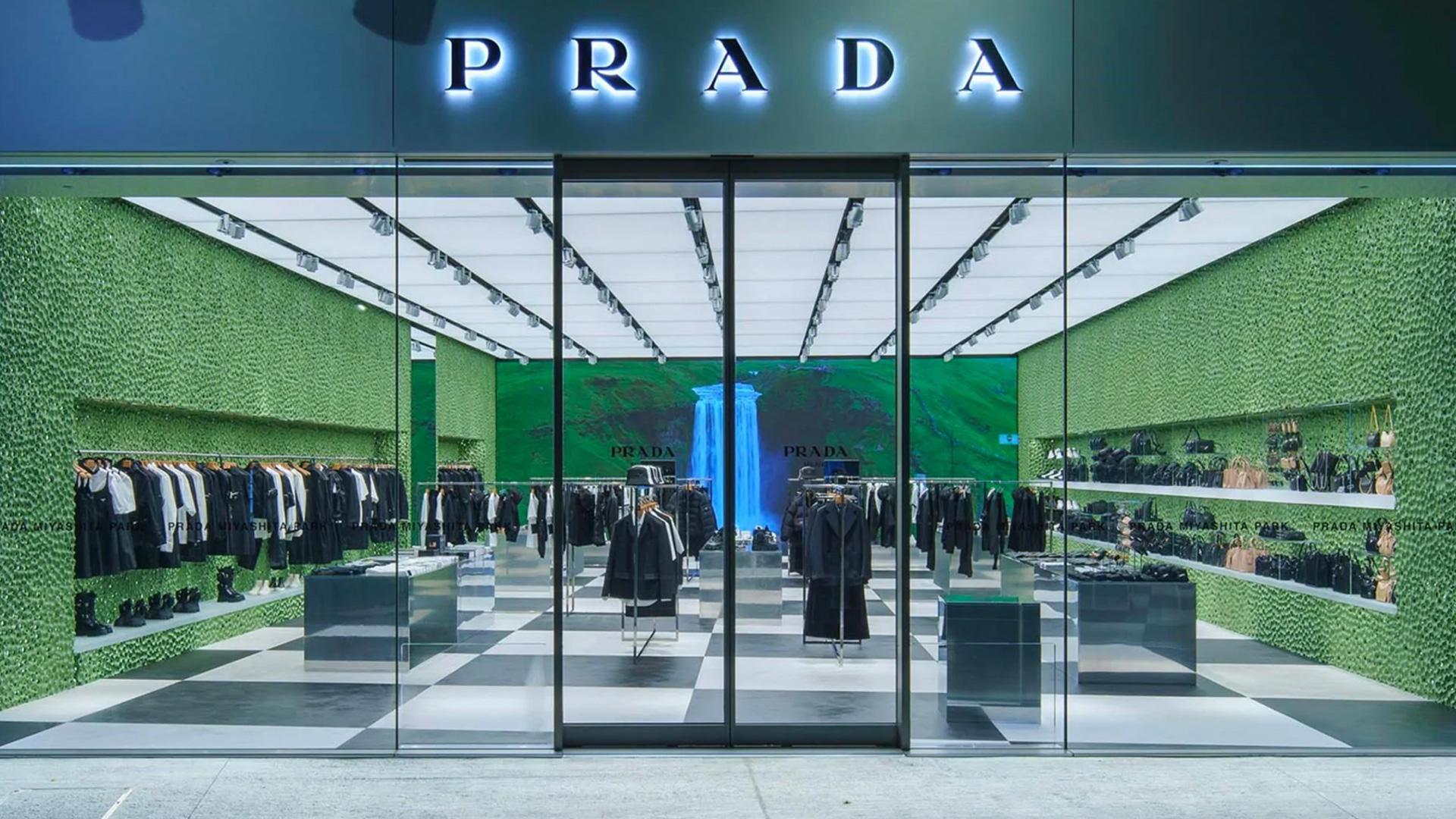Бутик Prada в Токио по проекту Рема Колхаса