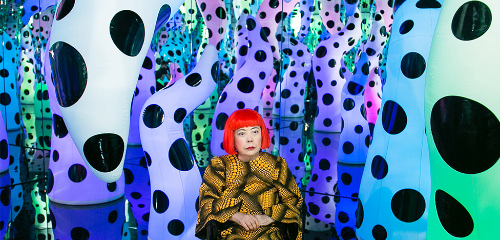 Яёи Кусама: инсталляция Love is Calling в музее Бостона