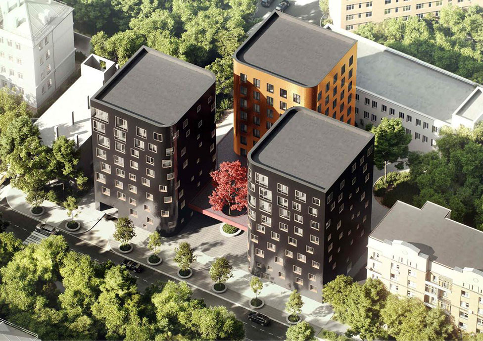 Три новых дома по проекту «Цимайло, Ляшенко и партнеры»
