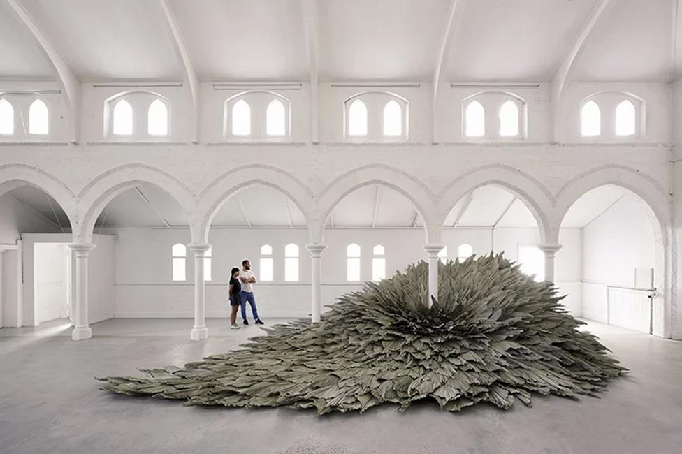 Loose Leaf Studio: гигантские листья в Мельбурне