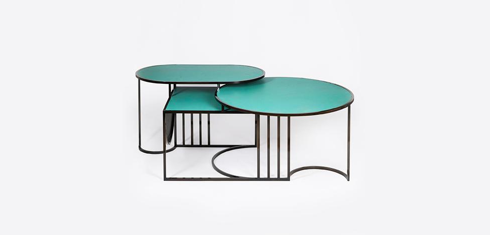 Орбитальные столы Лары Бохинц