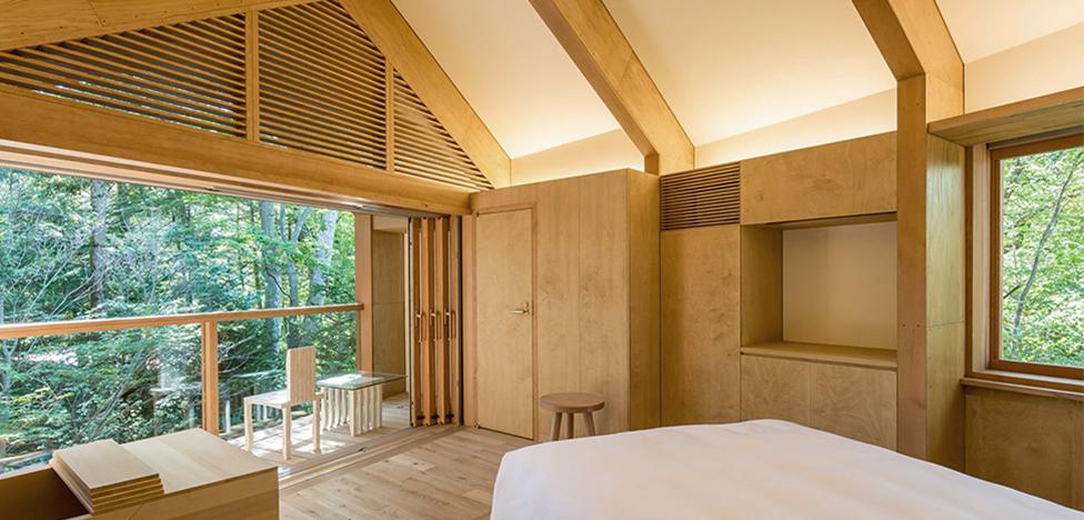 Японский бутик-отель по проекту Шигеру Бана