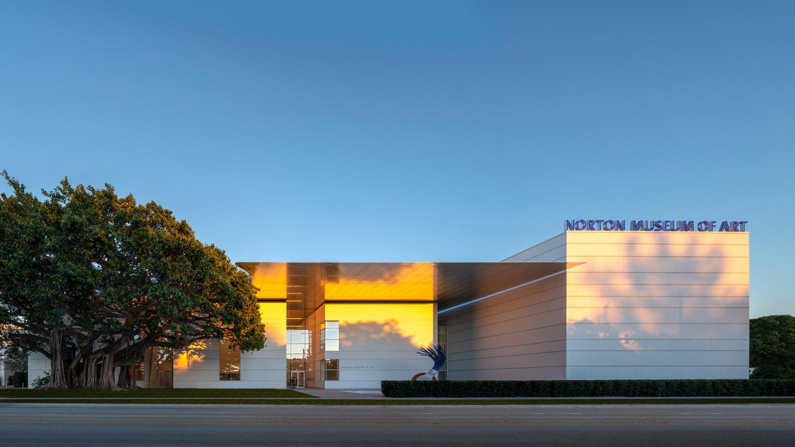 Норман Фостер реконструирует Norton Museum
