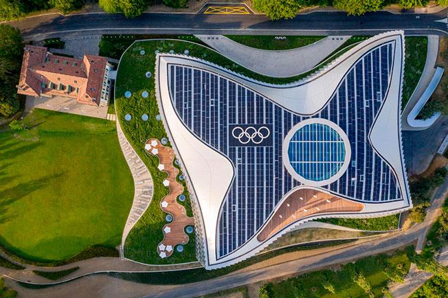 Международный олимпийский комитет: новая штаб-квартира по проекту 3XN