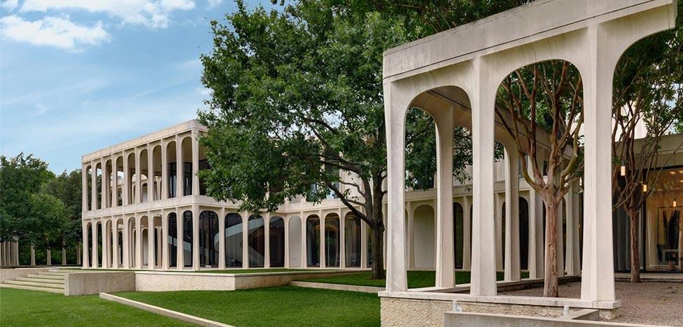 Дом с колоннадой Филипа Джонсона