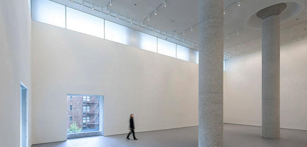 Офис Sotheby's в Нью-Йорке по проекту OMA