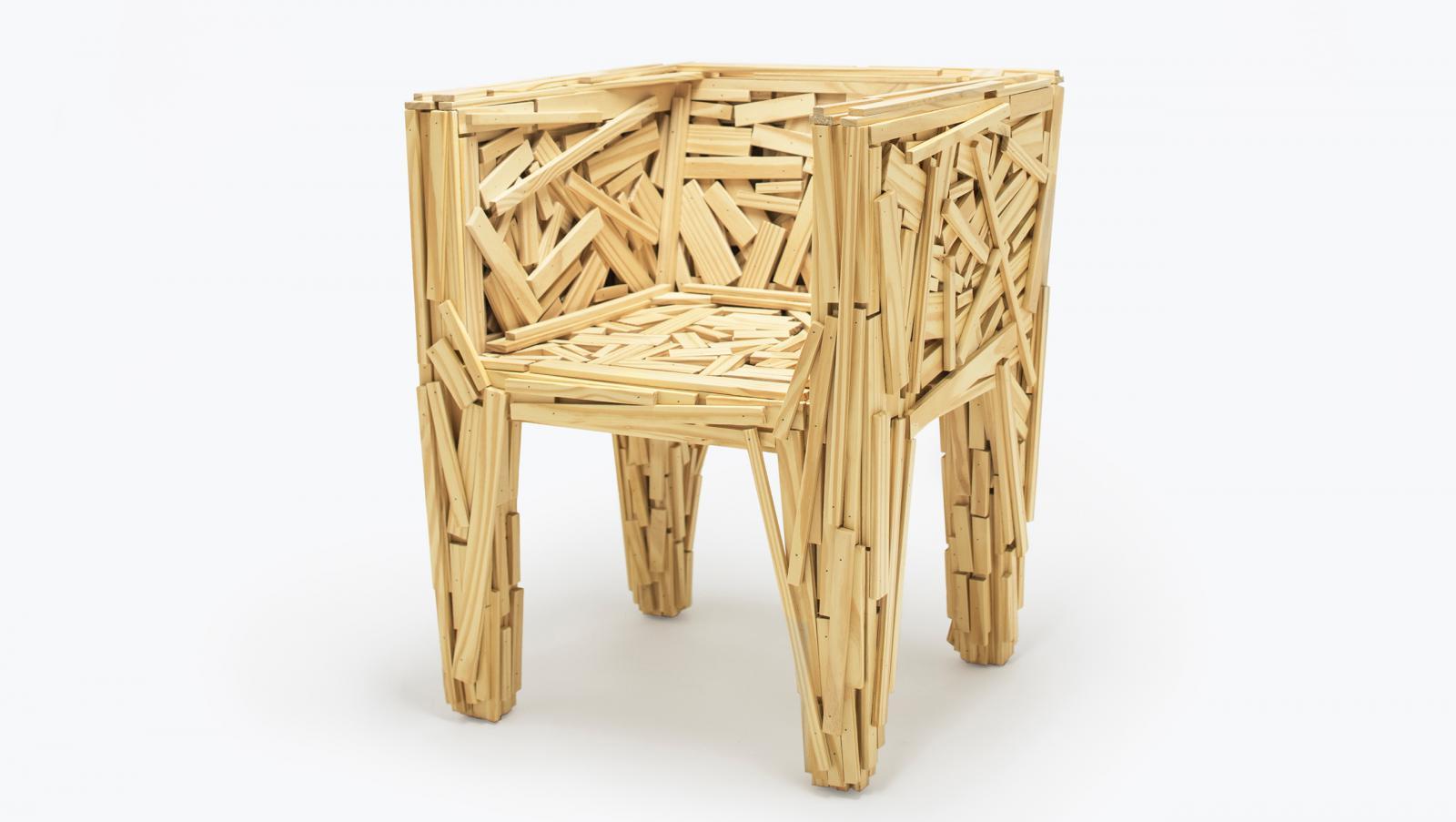 100 лет дизайна: стул Favela братьев Кампана