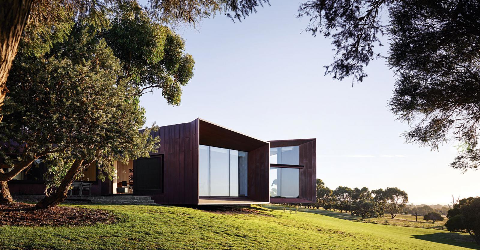 Фермерский дом по проекту John Wardle Architects