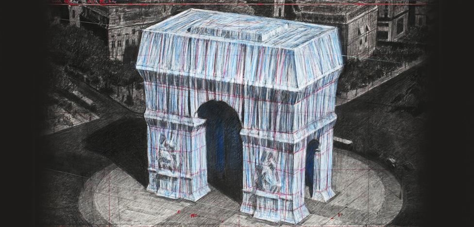 Христо обернет Триумфальную арку в Париже