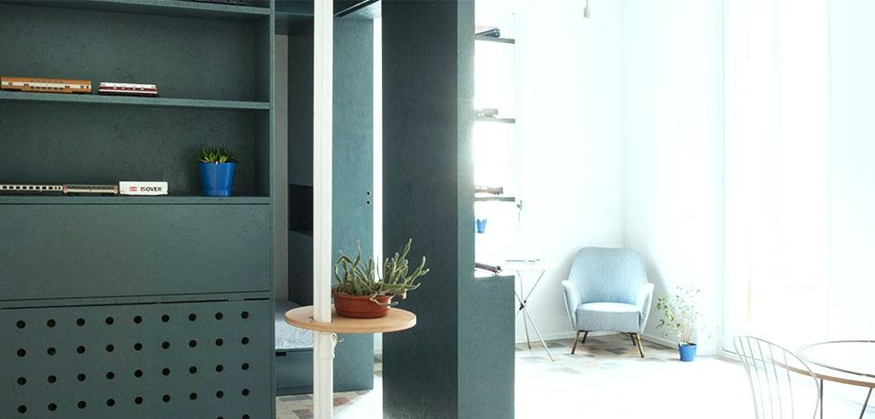 Небольшая, хорошо спланированная квартира в Милане