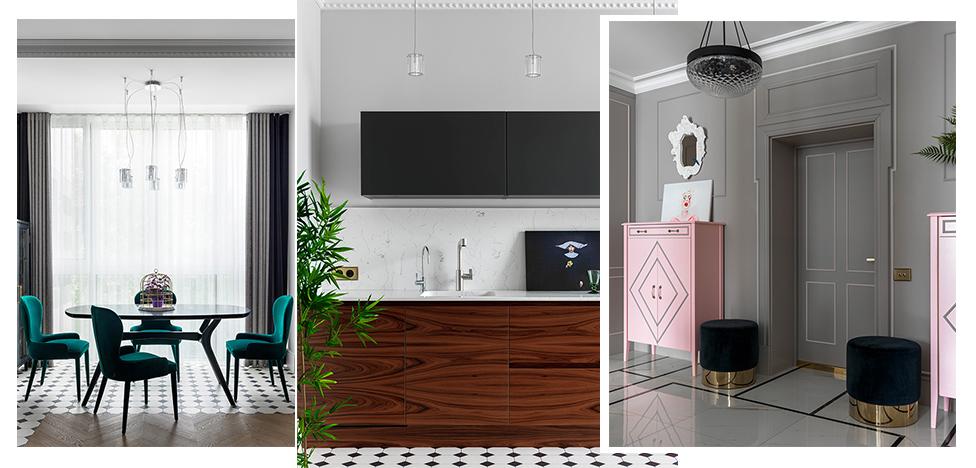 Проект Ирины Налимовой: романтичная квартира в Минске