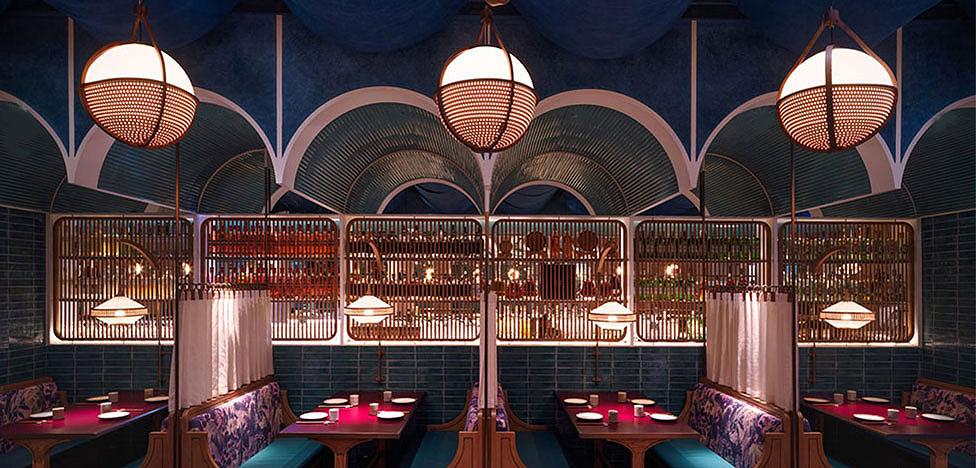 Кросс-культурный ресторан в Гонконге по проекту Linehouse