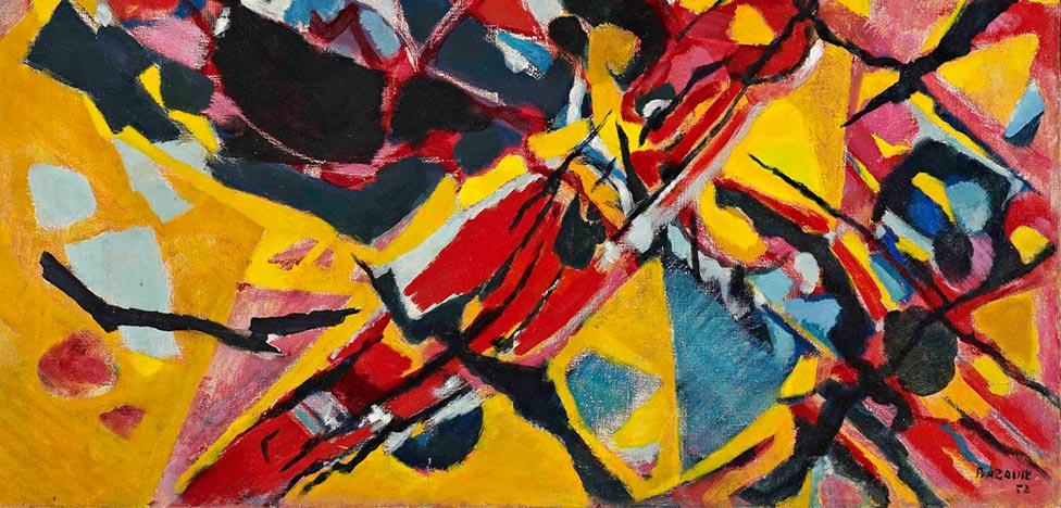 Европейская абстракция и искусство Востока на роскошной выставке в ГМИИ
