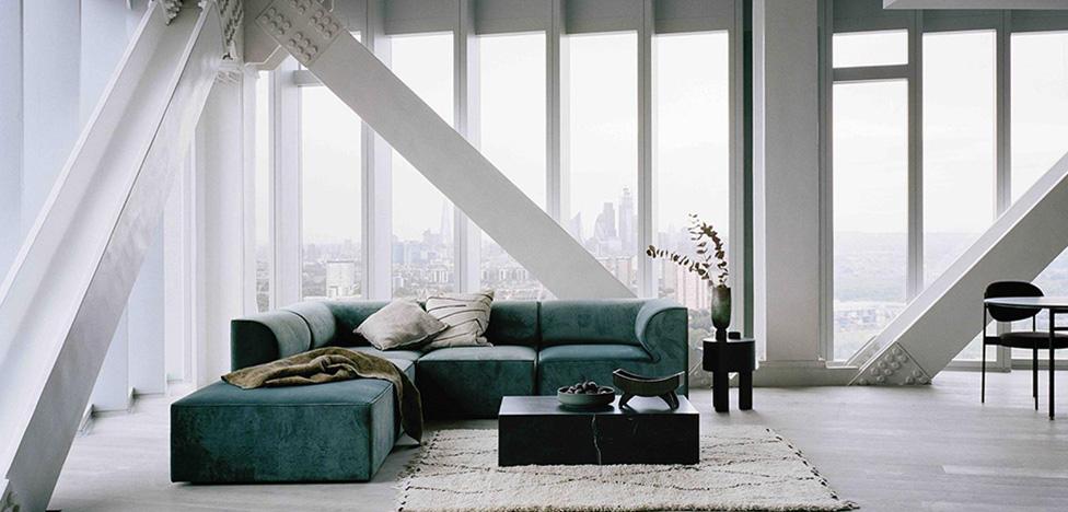 Studio KO в Manhattan Loft Gardens: французский дизайн в Лондоне