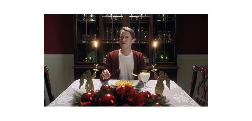 Рождественское видео Google: один дома