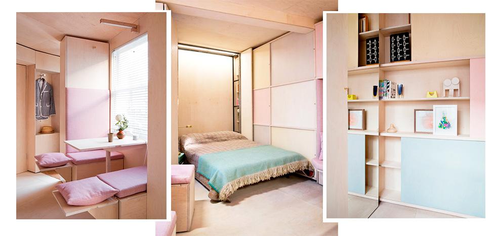 Studiomama: дом площадью 13 кв. метров