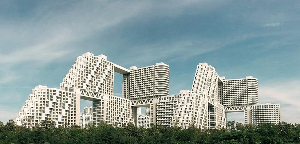 Safdie architects: невероятный ЖК в Китае