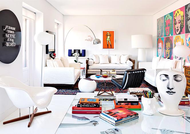 Тереза Сапей: женщина-архитектор о своей квартире в Мадриде