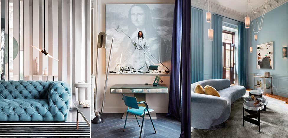 В палитре океана: 45 комнат от дизайнеров
