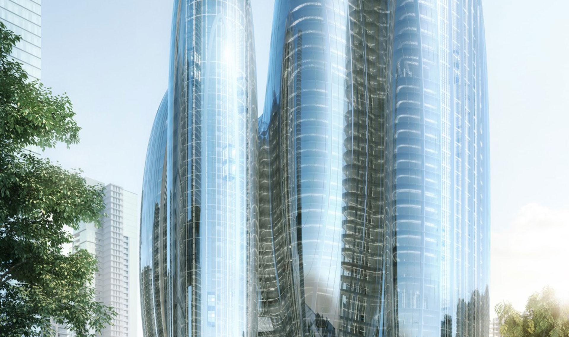 Zaha Hadid Architects спроектируют штаб-квартиру OPPO в Шэньчжэне