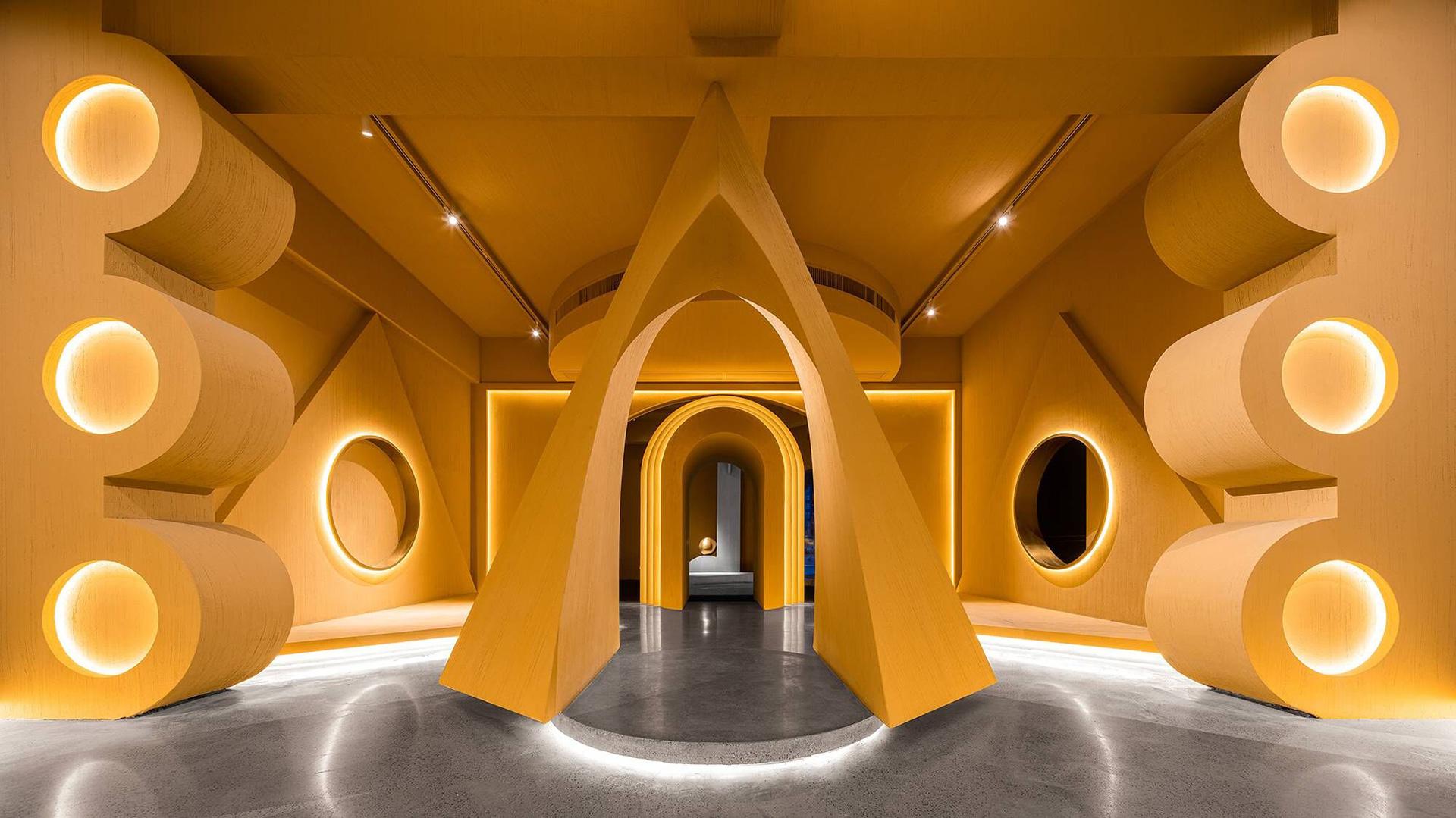 Pig Design: арт-центр в Китае, посвященный группе Memphis