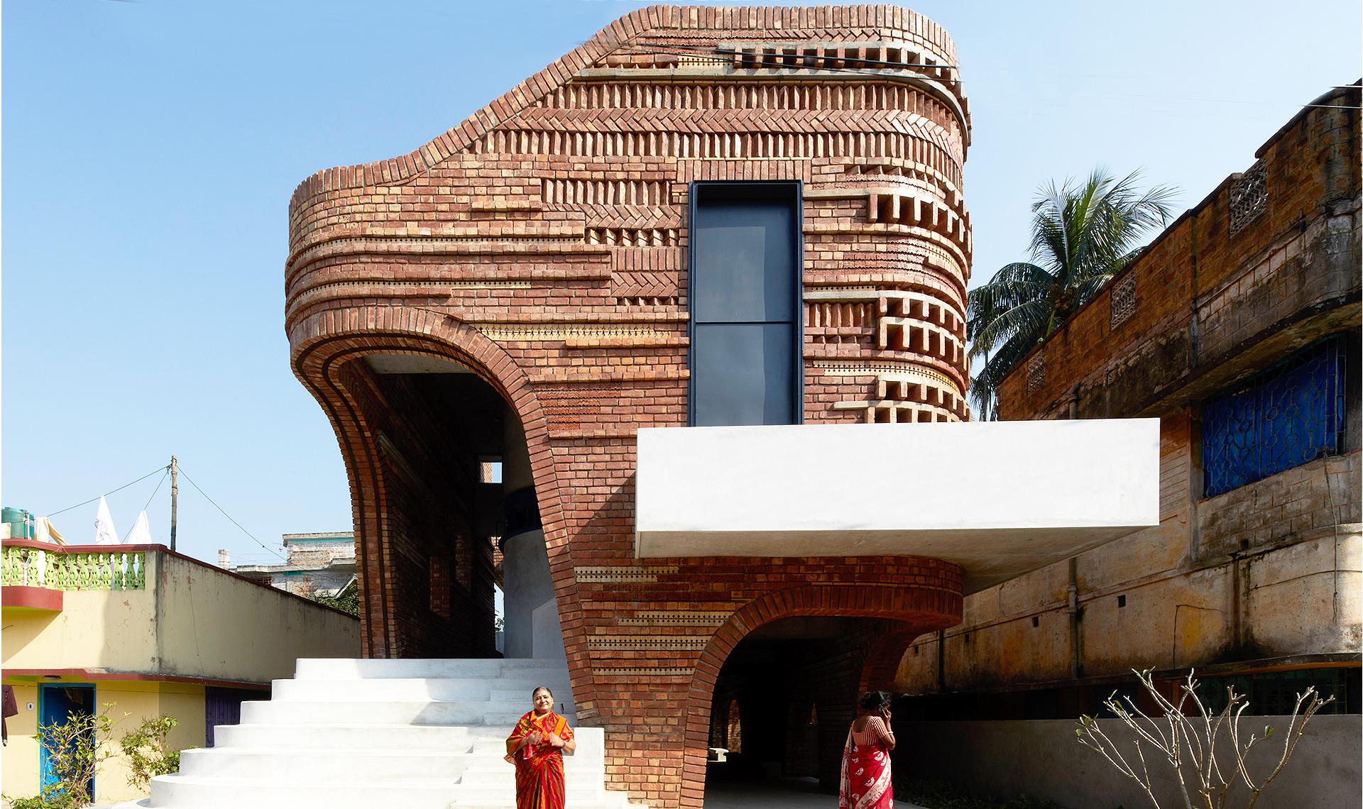 Abin Design Studio: общественный центр в Индии