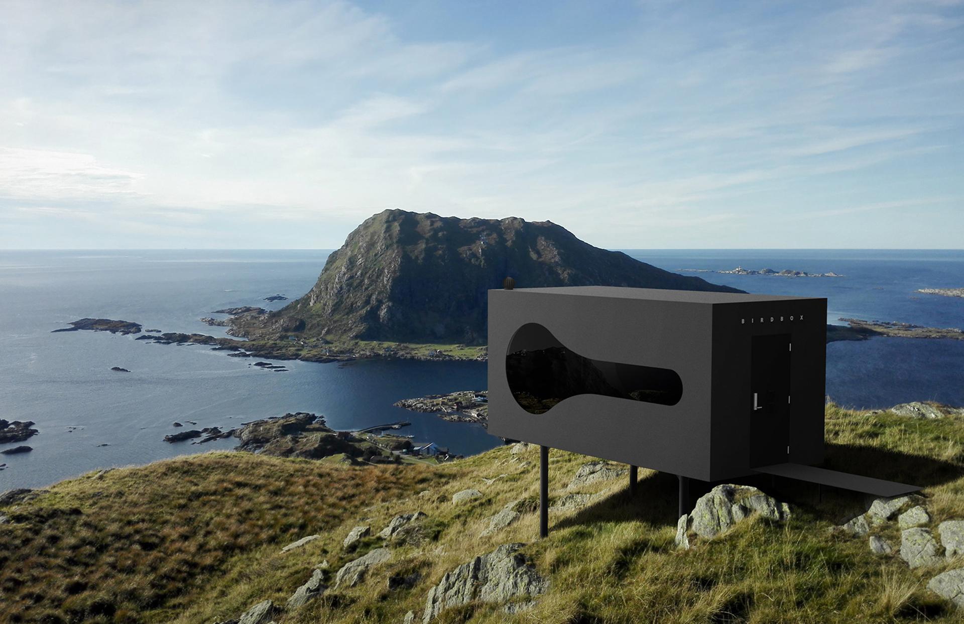 Дом-скворечник в Норвегии
