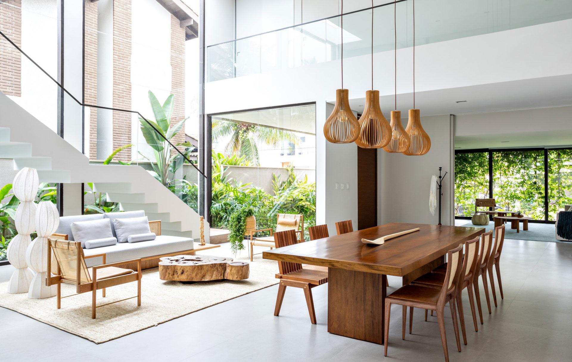 Резиденция в Бразилии по проекту Zalc Architect и Rua 141
