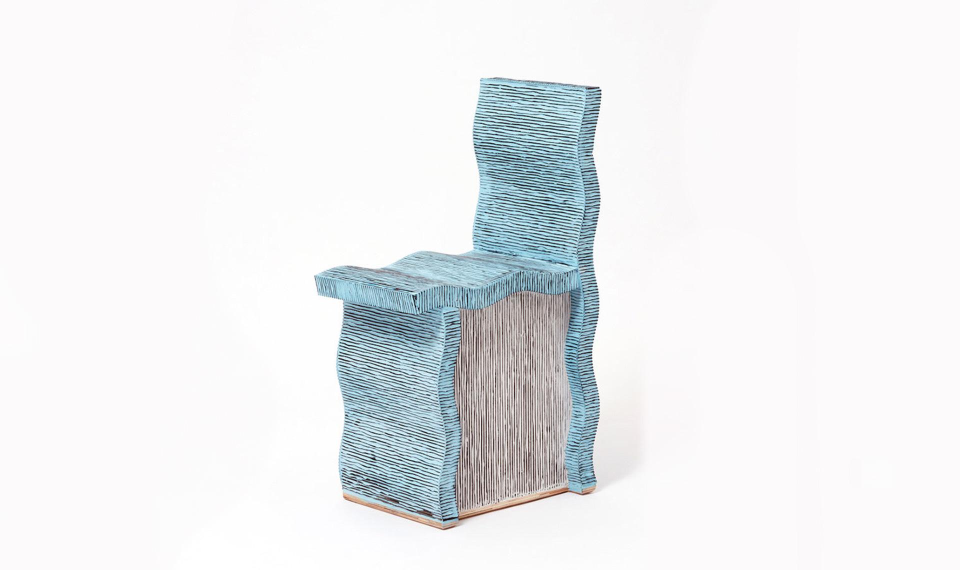 Чихо Чеон: мебель из картона