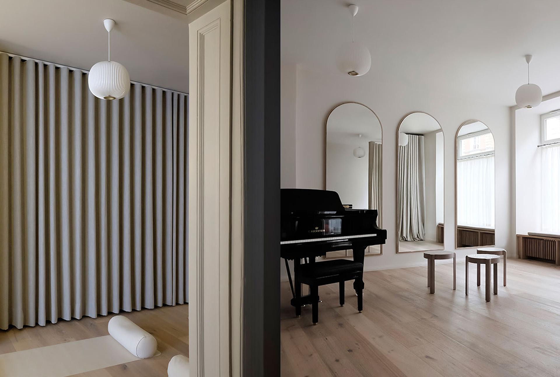 Музыкальная студия в Берлине по проекту Эмили Брум