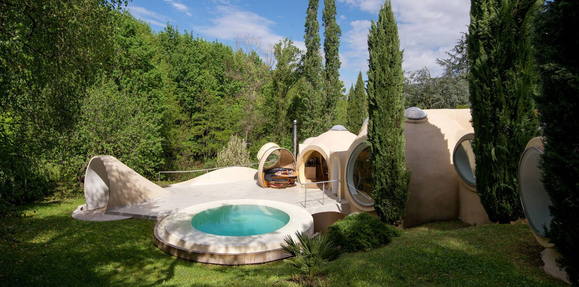 Дом по проекту Антти Ловага около Лиона
