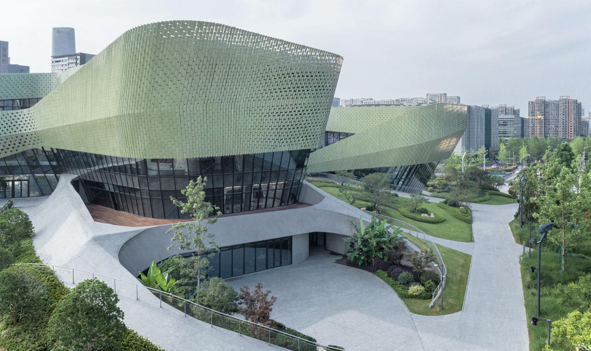 Playze&Schmidhuber: выставочный центр в Китае