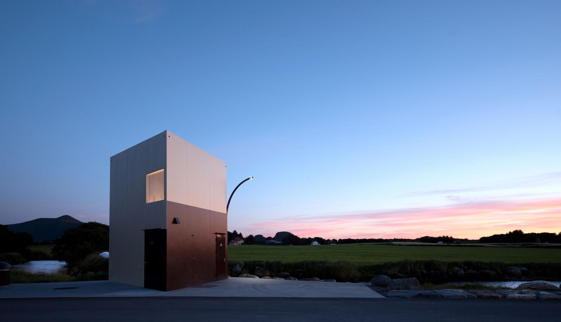 Rever & Drage Architects: норвежская автостоянка
