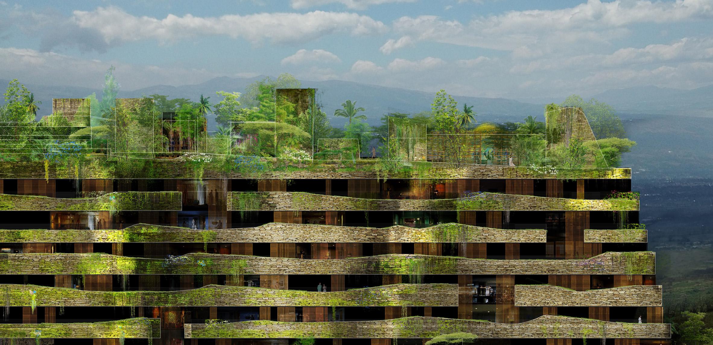 Жан Нувель строит зеленый квартал в Эквадоре