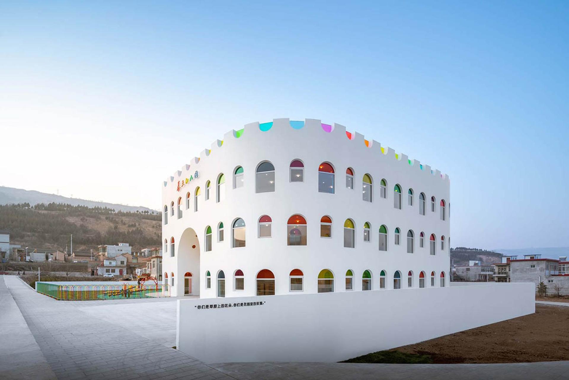 Китайский детский сад по проекту японских архитекторов