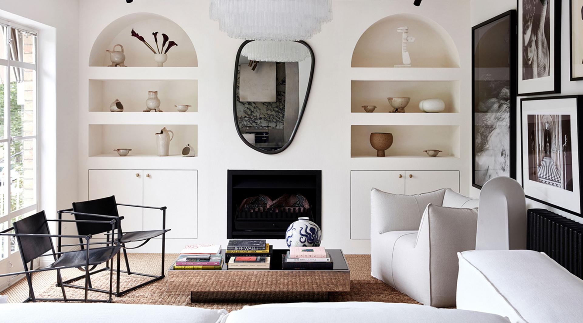 Квартира с минималистичным декором по проекту Тэмсин Джонсон