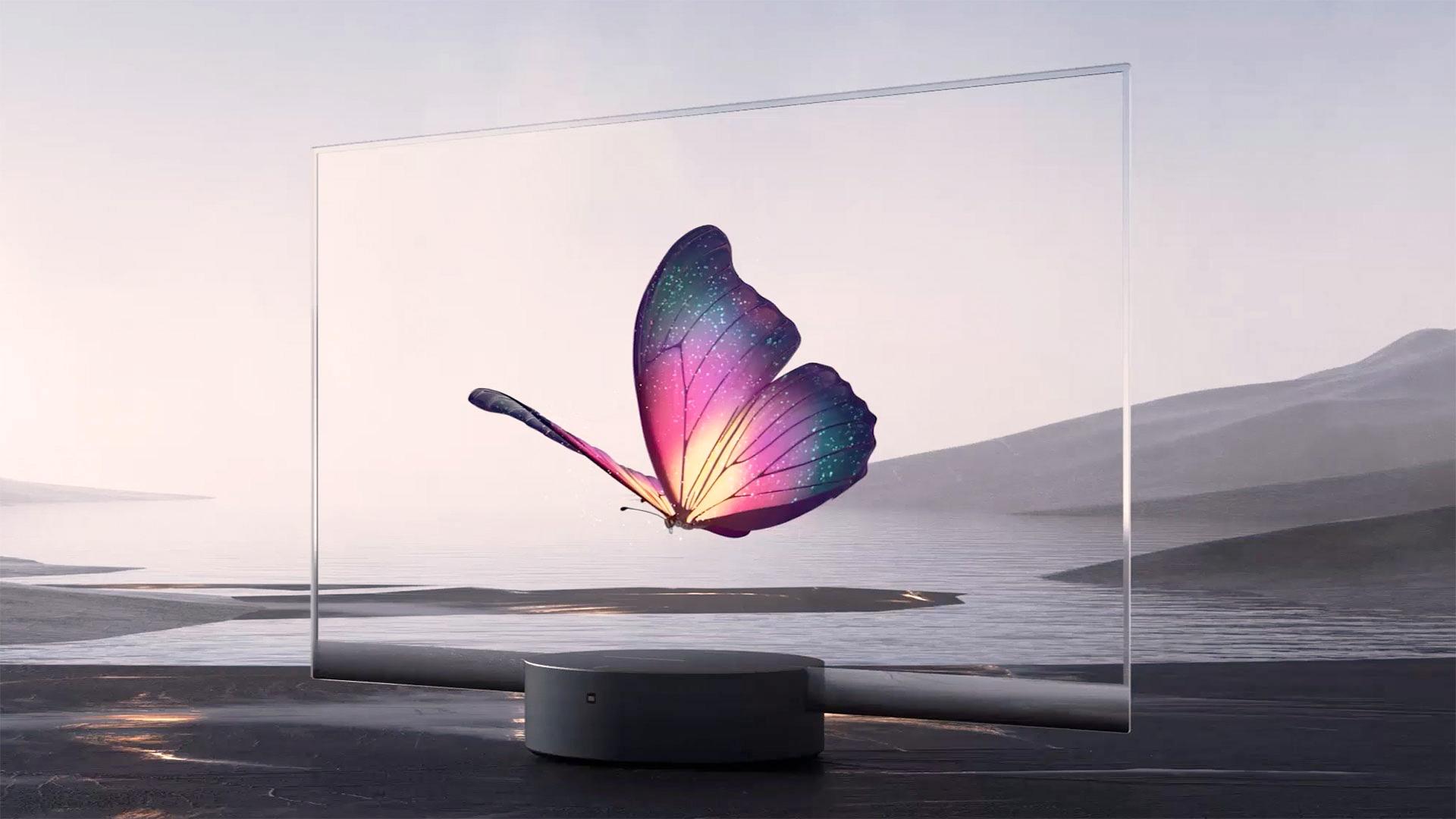 Первый прозрачный телевизор Xiaomi
