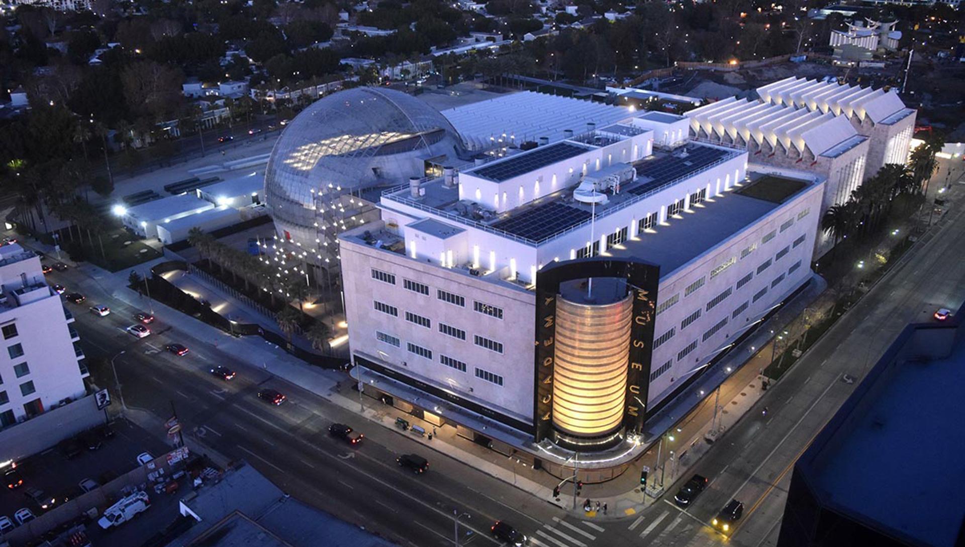 Музей Американской киноадемии в Лос-Анджелесе по проекту Ренцо Пьяно